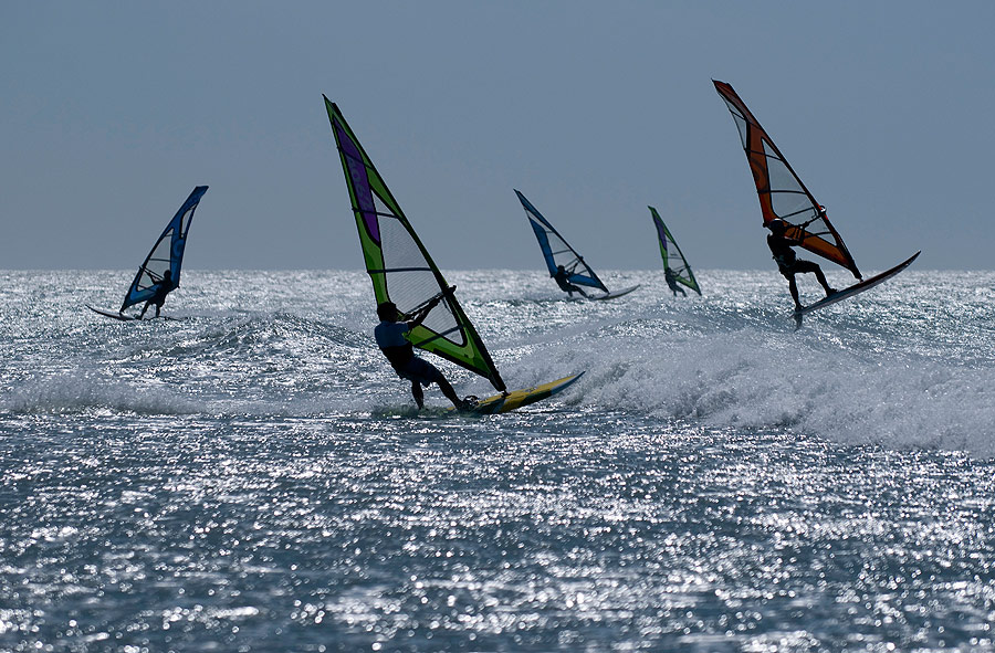 windsurfe em Jericoacoara - CE © Alexandre Cappi