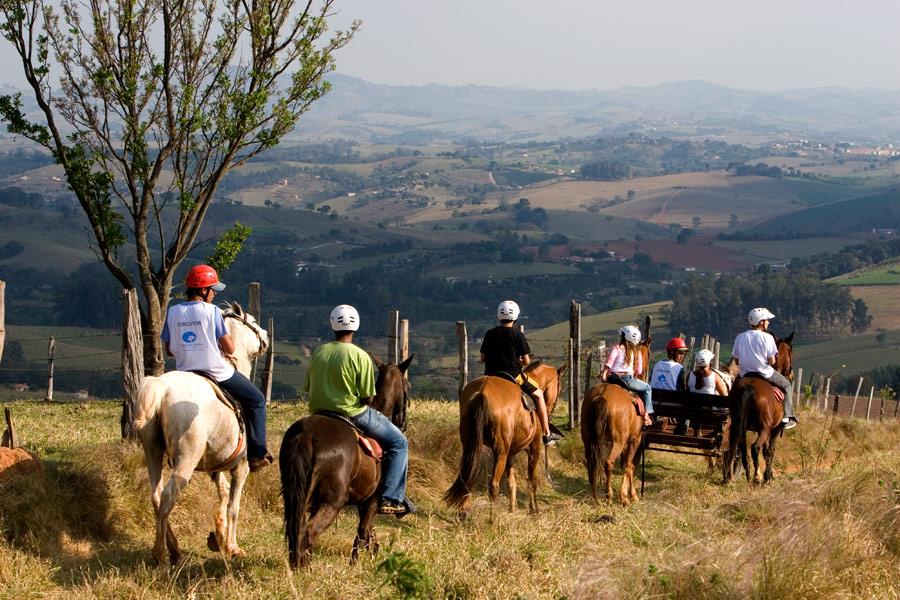 Cavalgada © Beccari / arquivo Hotel Fazenda Parque dos Sonhos