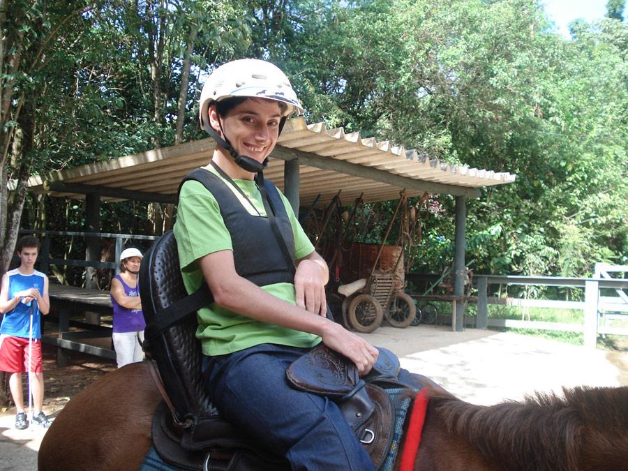 Sela adaptada para paraplegico ©arquivo Hotel Fazenda Parque dos Sonhos