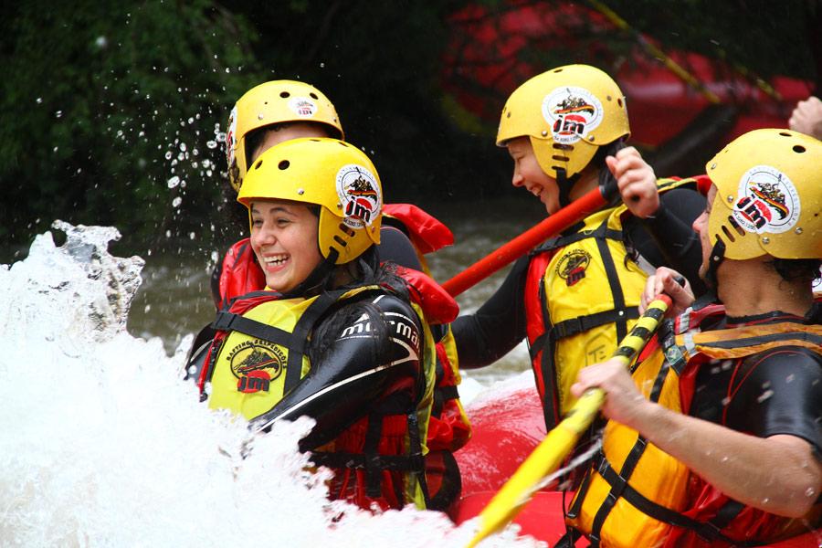Rafting em Canela © Ion David