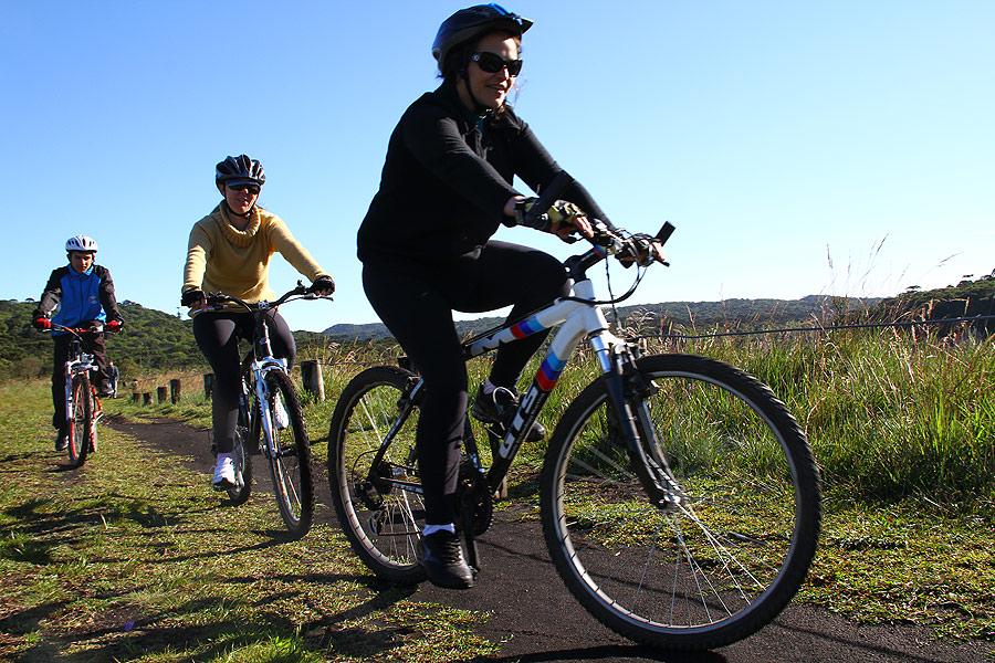 cicloturismo em Aparados da Serra © Ion David