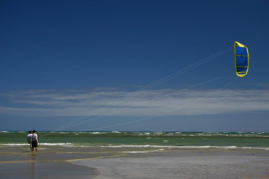 Kitesurfe em Porto de Galinhas © Ion David