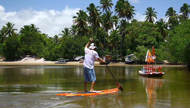 stand-up paddle em Porto de Galinhas © Ion David