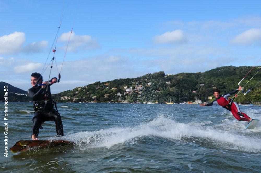Kitesurfe em Florianópolis © Alexandre Cappi