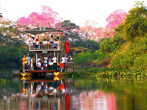 Pantanal - Fazenda San Francisco - Passeio de Chalana - Pousada e aventura