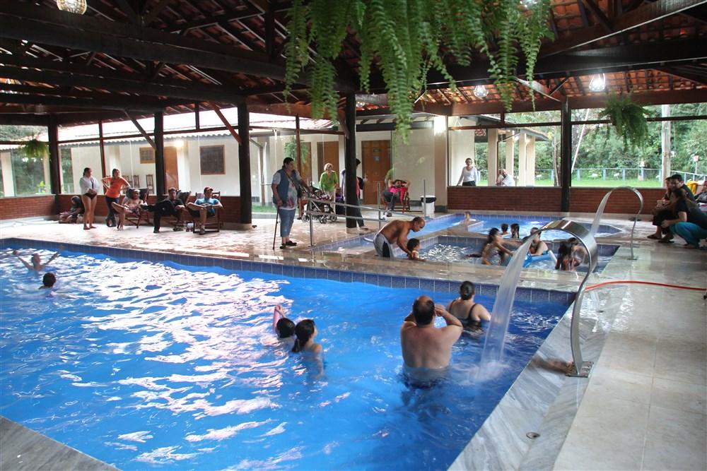O campo dos Sonhos oferece 3 opções de piscina a sua escolha.