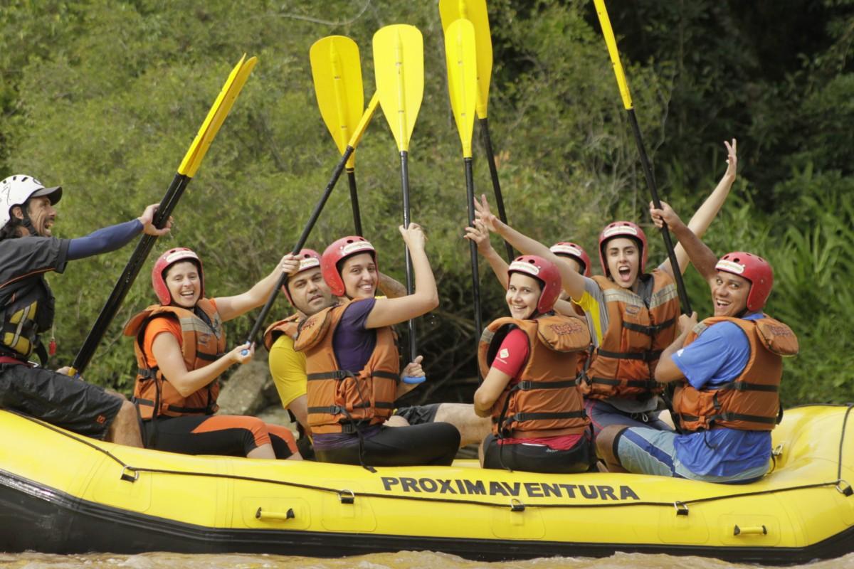Praticar Turismo de Aventura com os amigos é tudo de bom! #partiuaventura