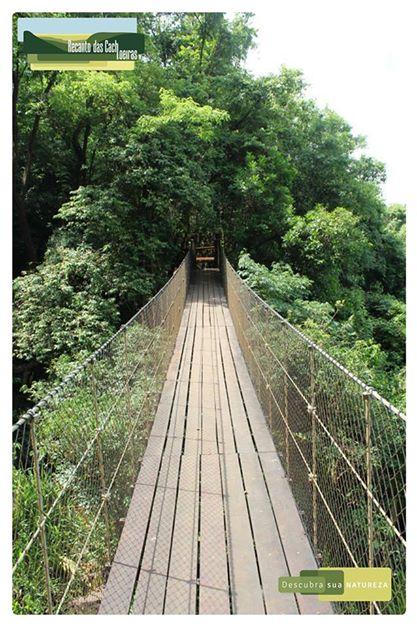 Ponte pencil: Recanto das Cachoeiras