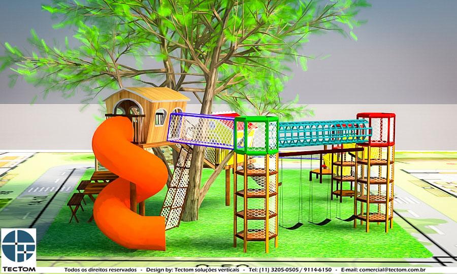 projeto Playground Auto Padrão: Clube no Rio de Janeiro