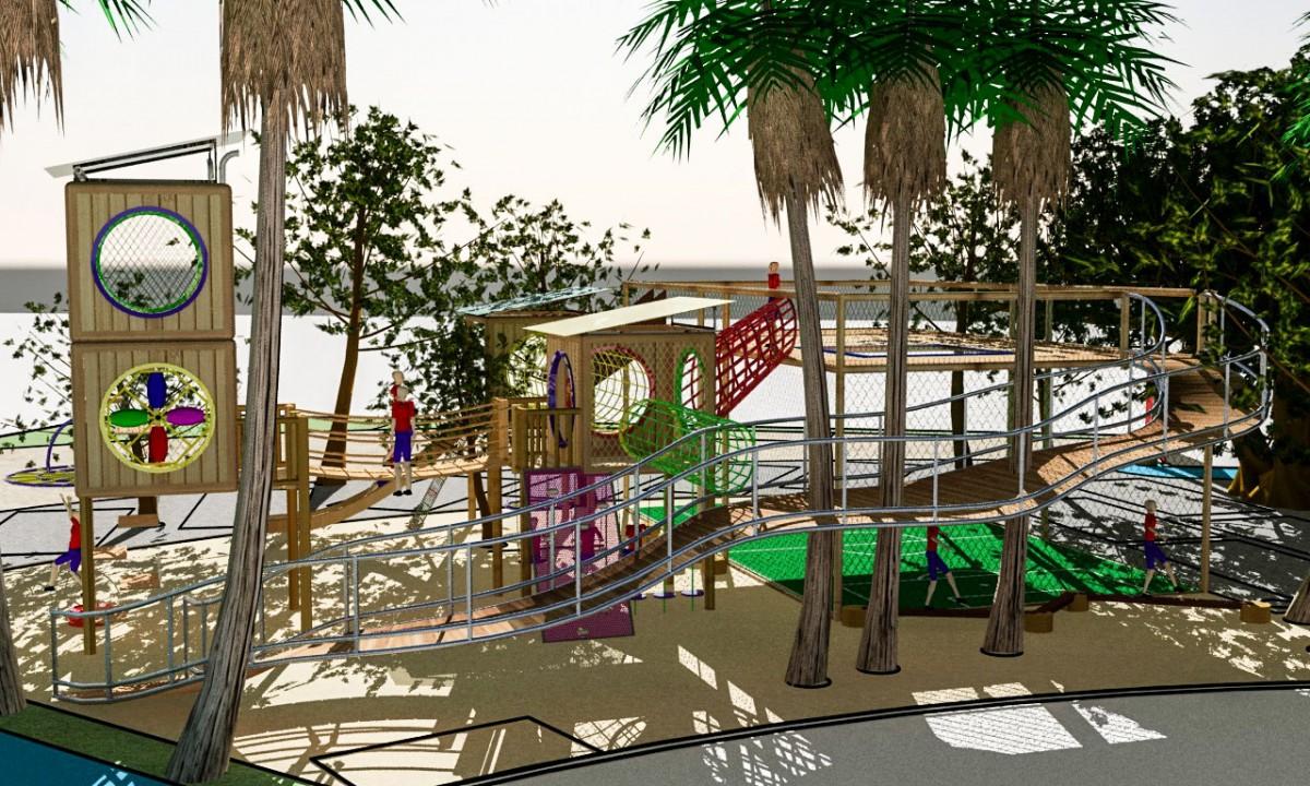 Projeto de Playground para Escolas e Hoteis