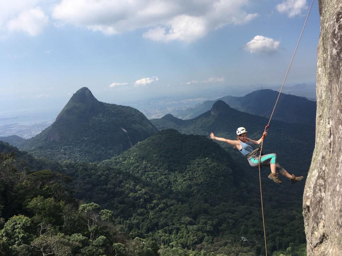 Rapel na Floresta a Tijuca - Rio de Janeiro