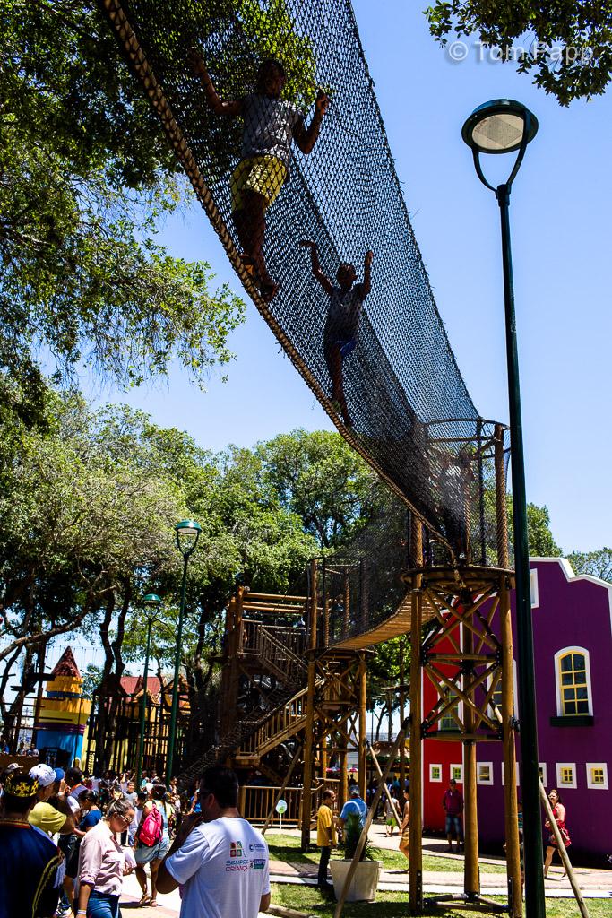 Ponte contemplativa: Cidade da Criança - Campos dos Goytacazes